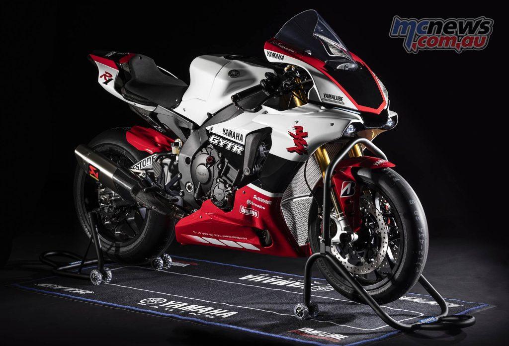 Yamaha YZF R GYTR Special RHF