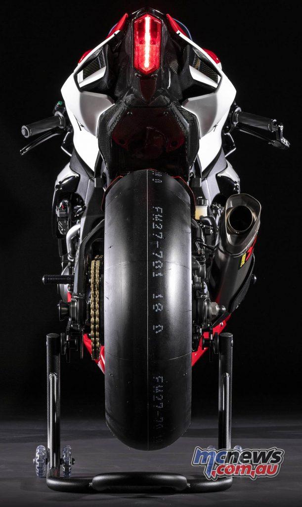 Yamaha YZF R GYTR Special Rear