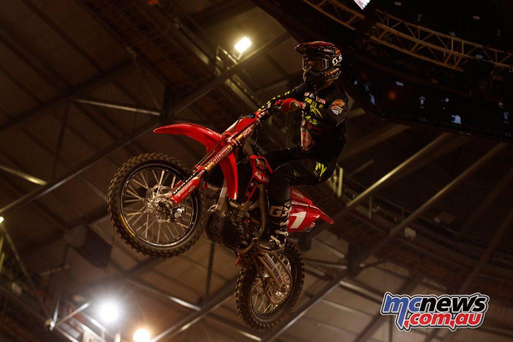 Australian Supercross Penrite Honda Justin Brayton