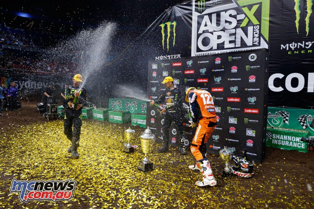 Australian Supercross Penrite Honda Podium AI