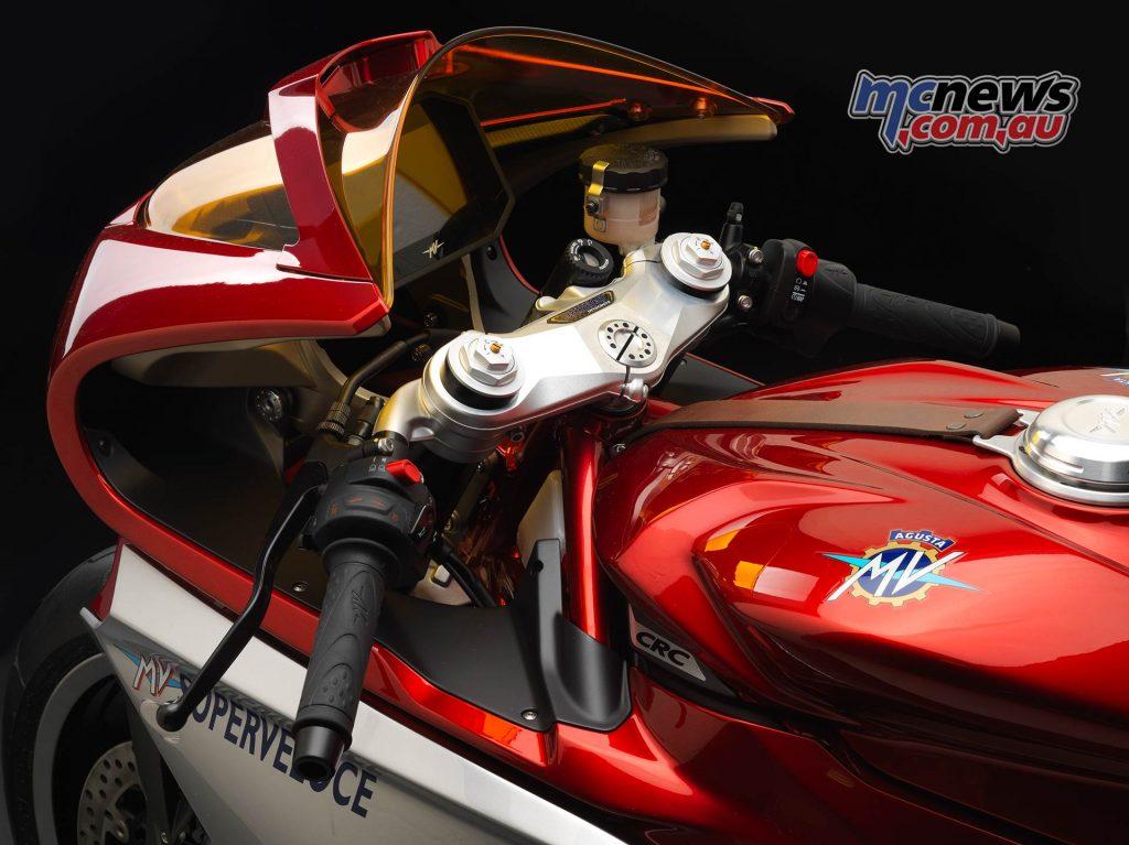 MV Agusta Superveloce Cockpit