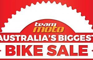 TeamMoto Sale Sign