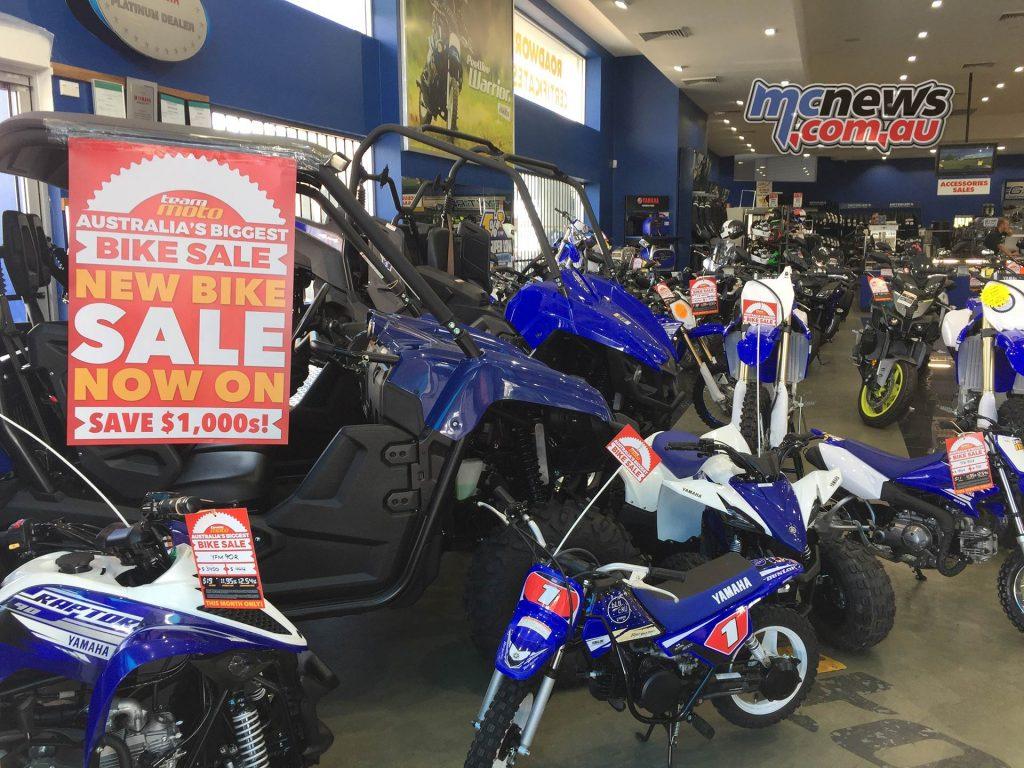 TeamMoto Sale Yamaha
