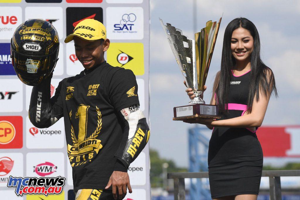 ARRC Rnd Helmi Azman Underbone Champion ARRC