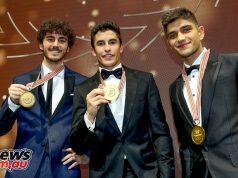 FIM Awards Marc Marquez Bagnaia Martin