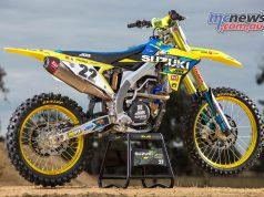 AMA SX Suzuki Chad Reed