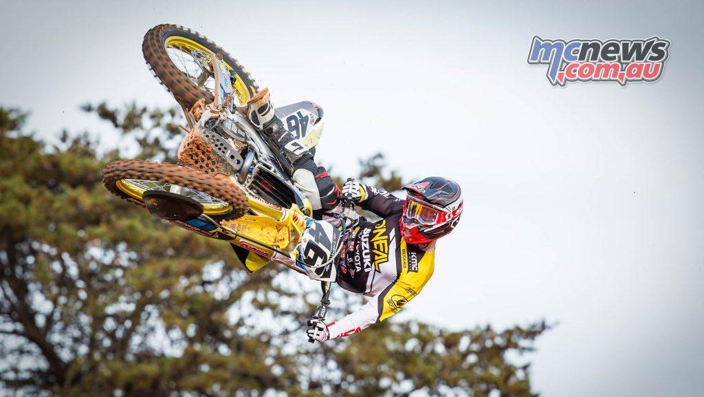 AMA SX Suzuki Justin Hill