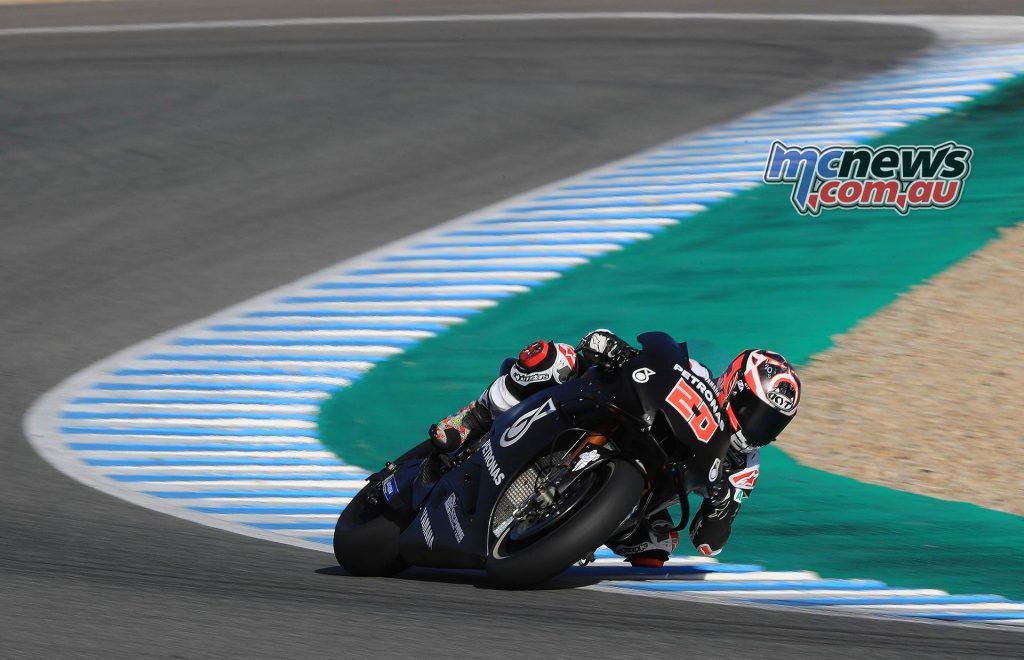 MotoGP Test Fabio Quartararo