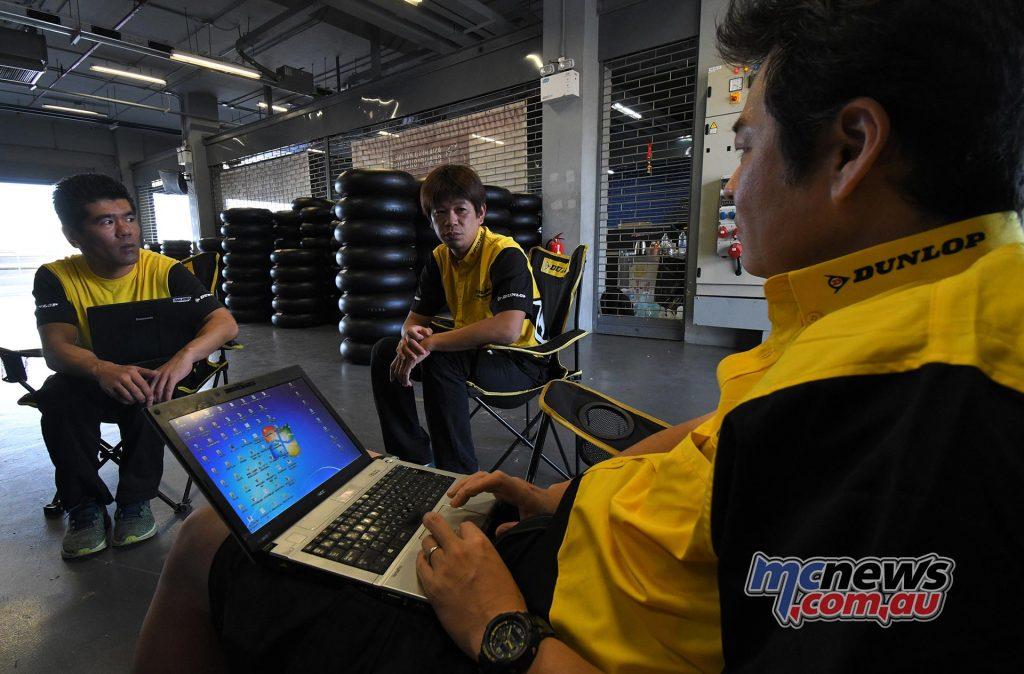ARRC Test Day Superbike Dunlop