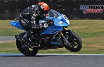 ARRC Test Day Superbike Glenn Allerton