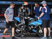 ARRC Test Day Superbike Glenn Allerton NextGen
