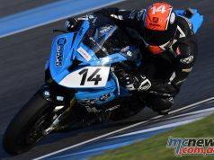 ARRC Test Superbike Glenn Allerton