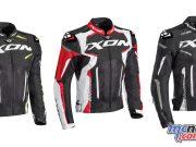 Ixon Gyre Jacket noir blanc rouge face F