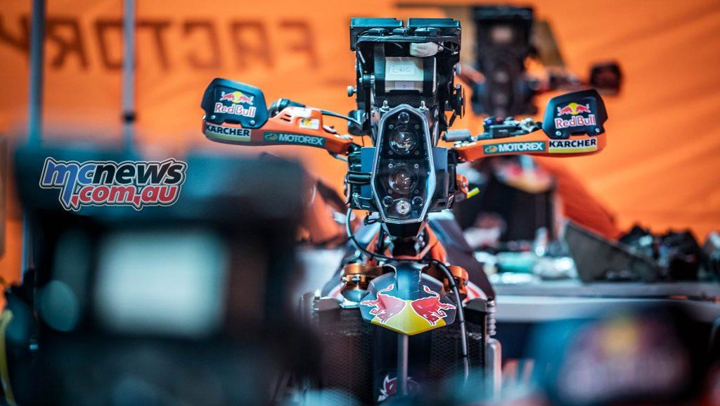 Dakar Rest KTM