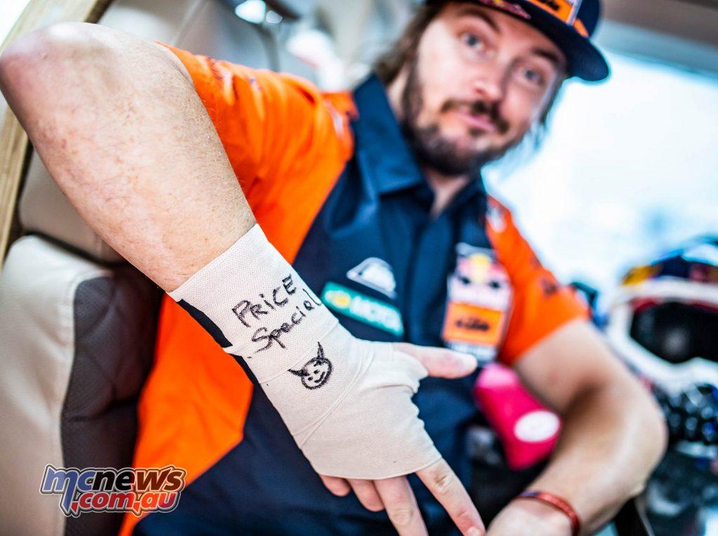 Dakar Rest Toby Price