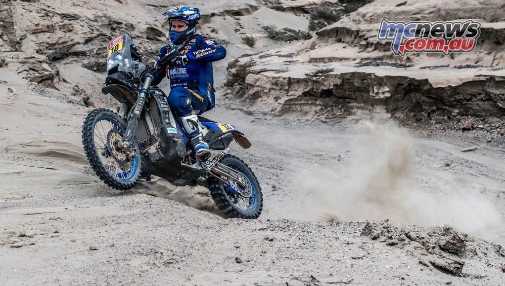 Dakar Stage Xavier de Soultrait