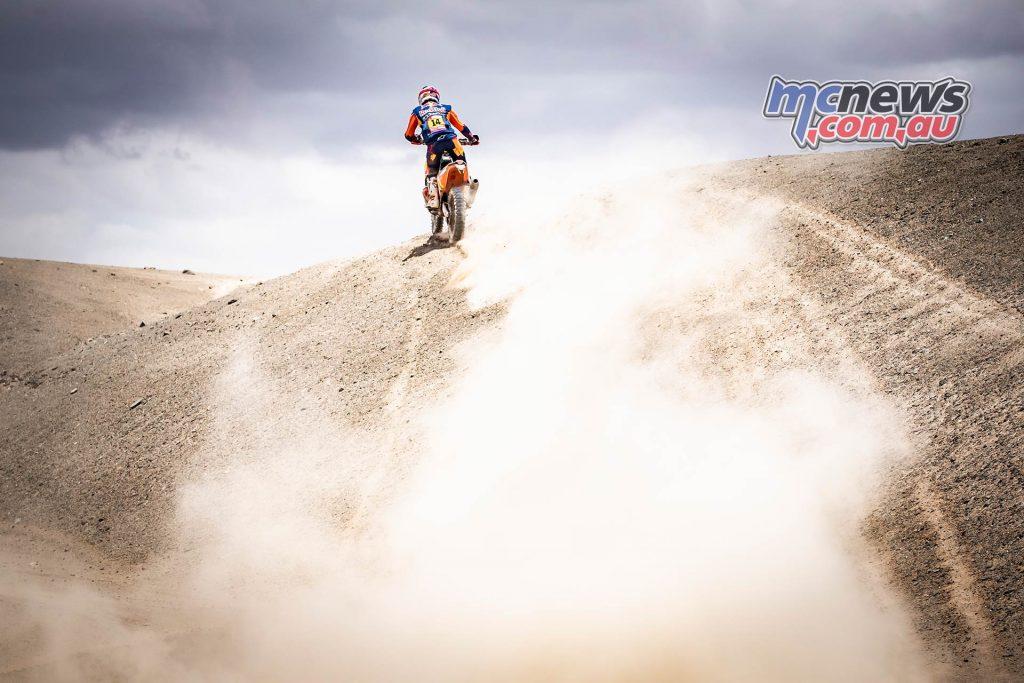Dakar Stage Sam Sunderland