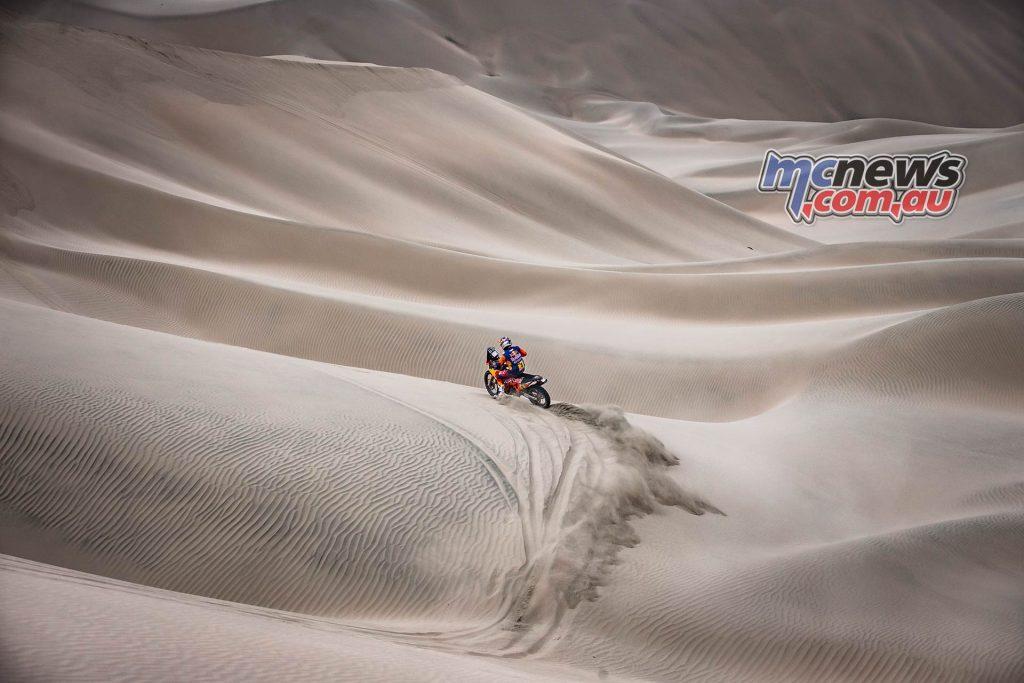 Dakar Stage ImageMarcinKin Toby Price