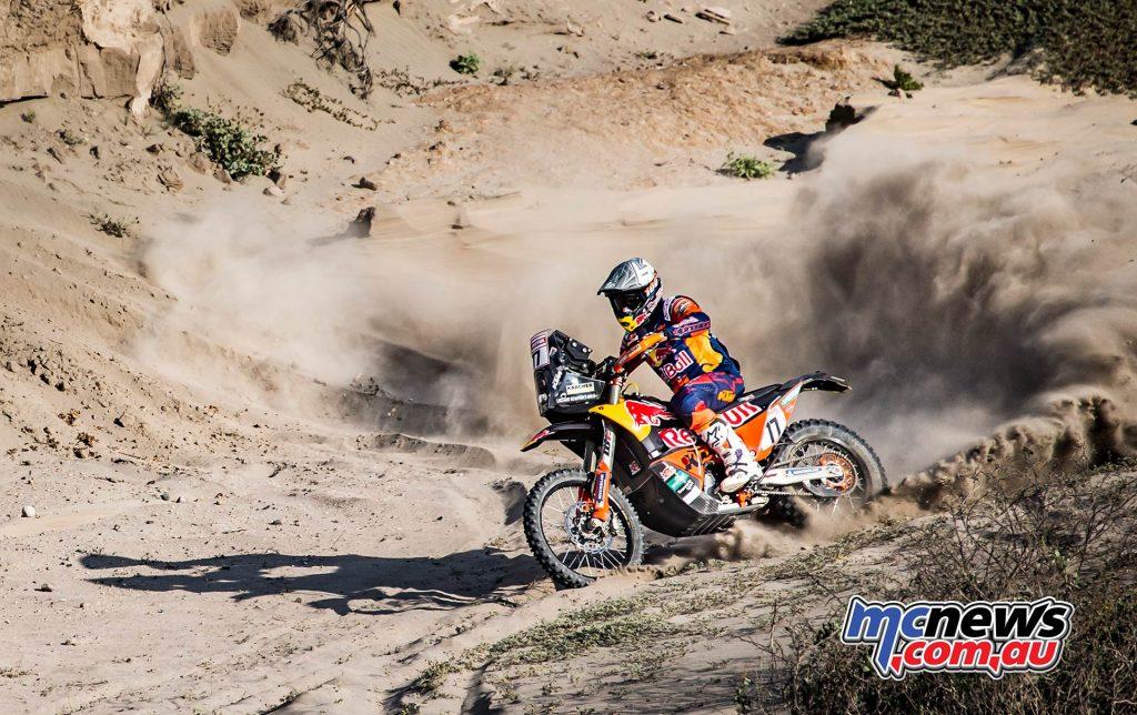 Dakar Stage Luciano Benavides