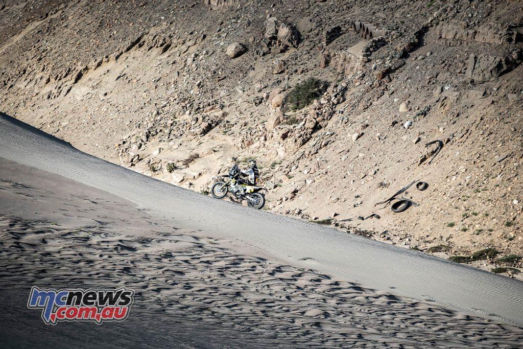 Dakar Stage Pablo Quintanilla