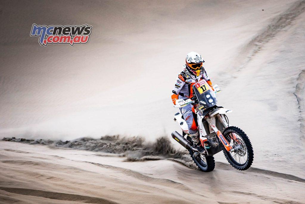 Dakar Stage Laia Sanz
