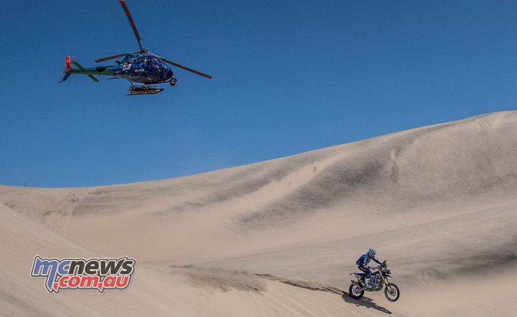 Dakar Stage Xavier DeSoultrait