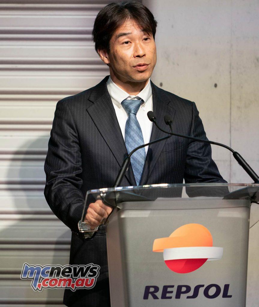 MotoGP Repsol HRC Launch Tetsuhiro Kuwata