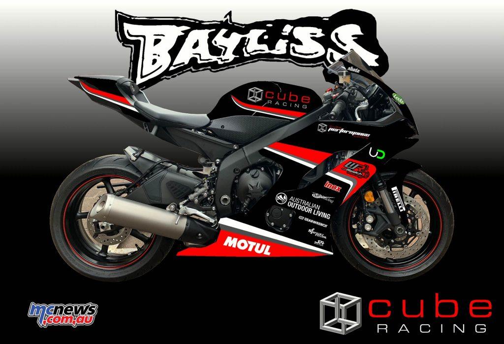 Oli Bayliss Supersport Graphics