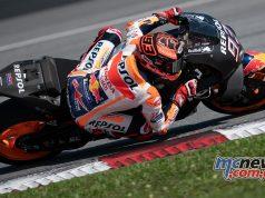 MotoGP Sepang Test Day Marc Marquez