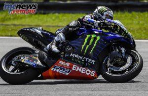 MotoGP Sepang Test Day Maverick Vinales