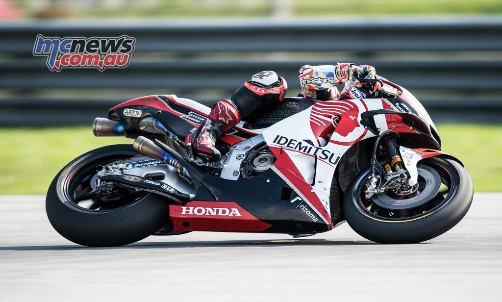 MotoGP Sepang Test Day Nakagami