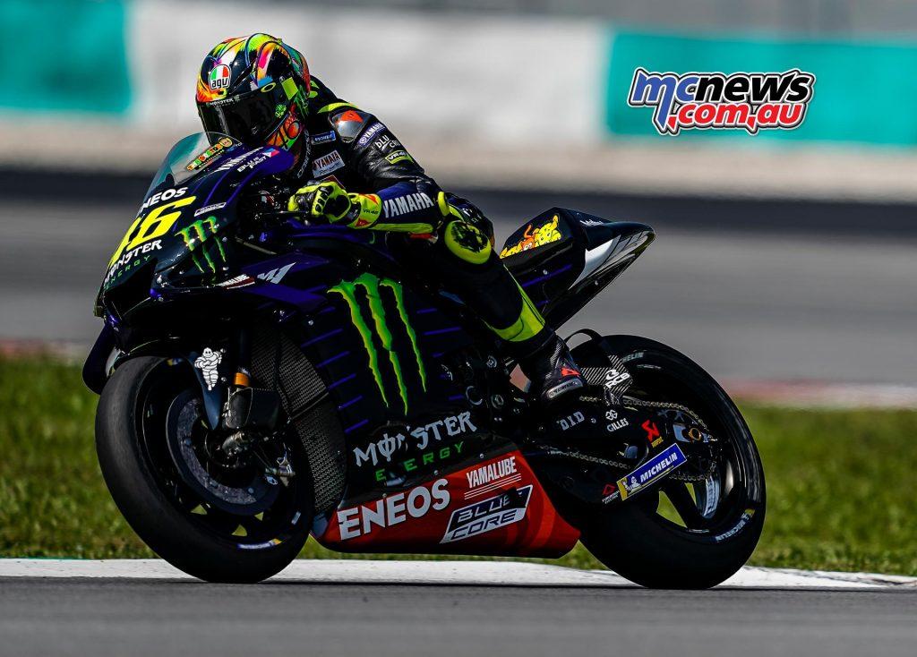 MotoGP Sepang Test Day Valentino Rossi