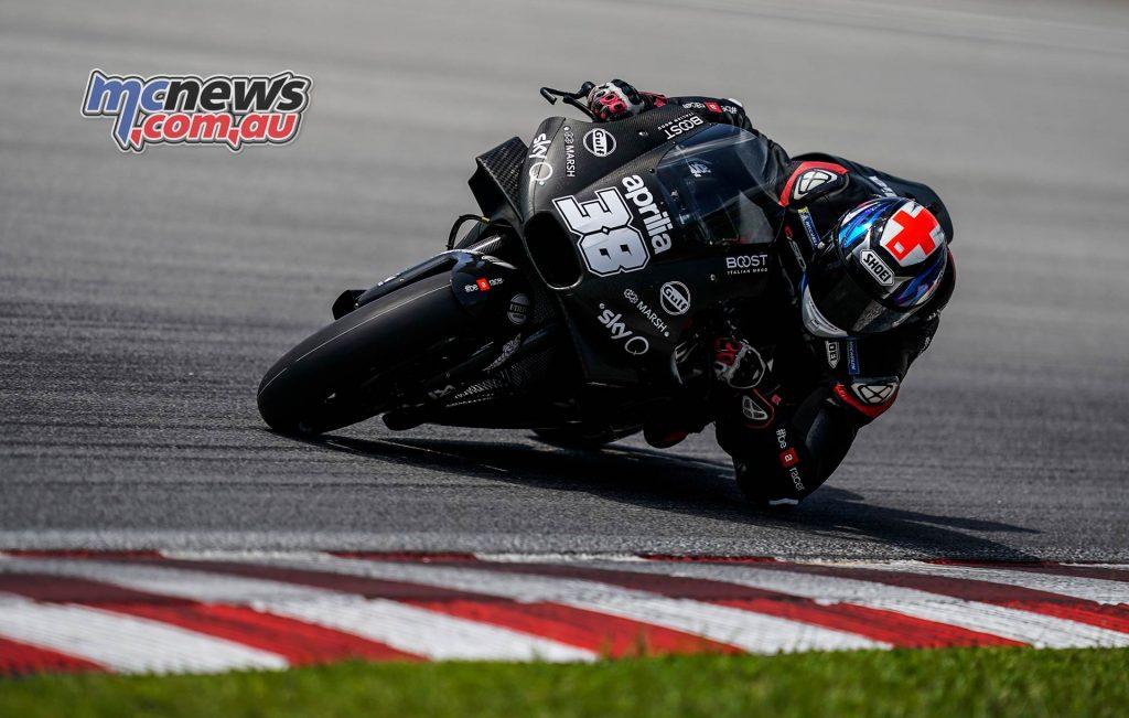 MotoGP Sepang Test Smith