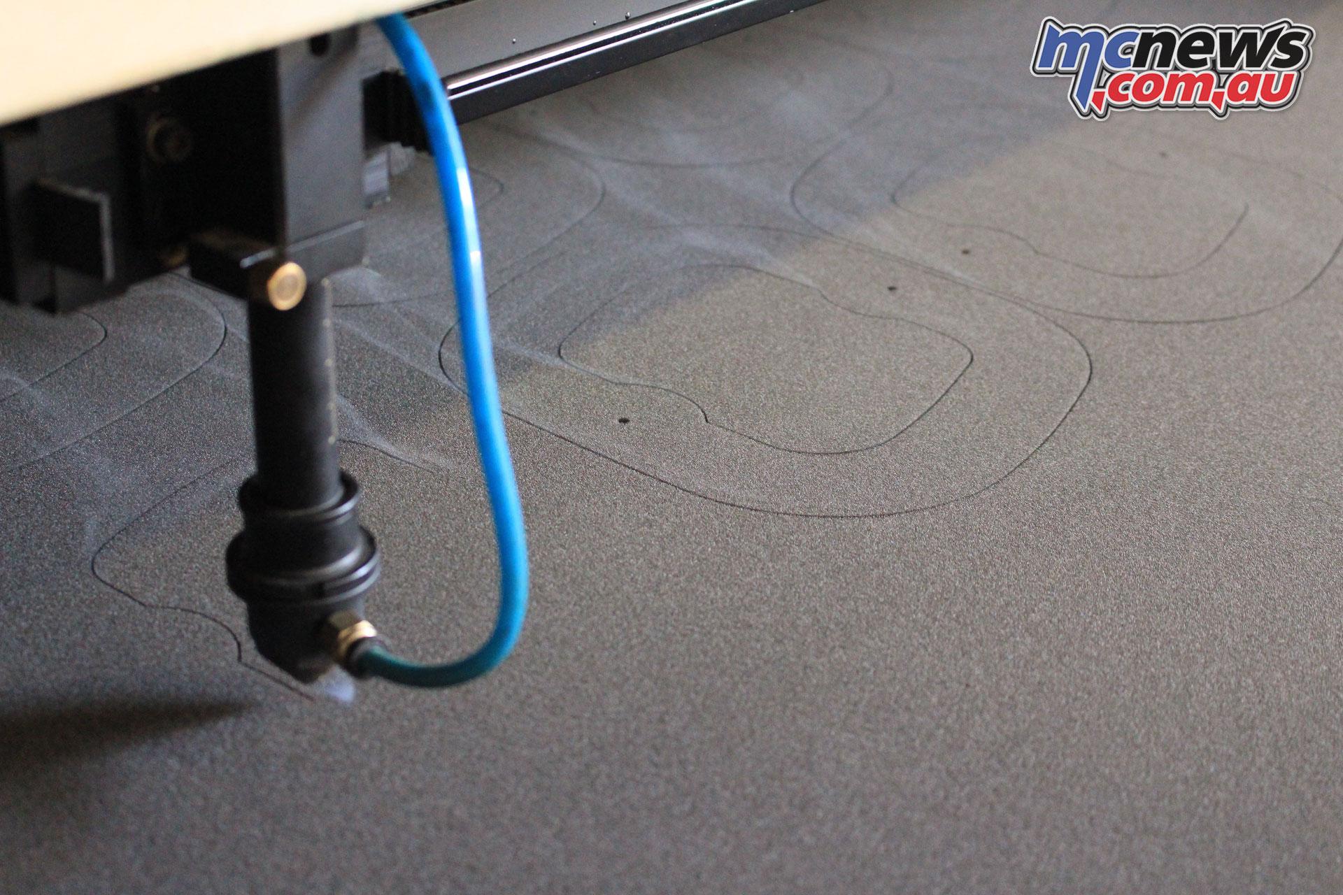 Unifilter CNC Laser Foam Cutting