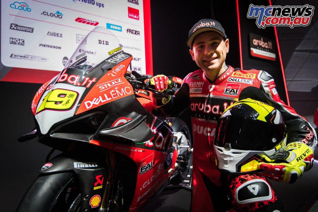 WorldSBK Aruba it Racing Ducati Team Presentation Bautista