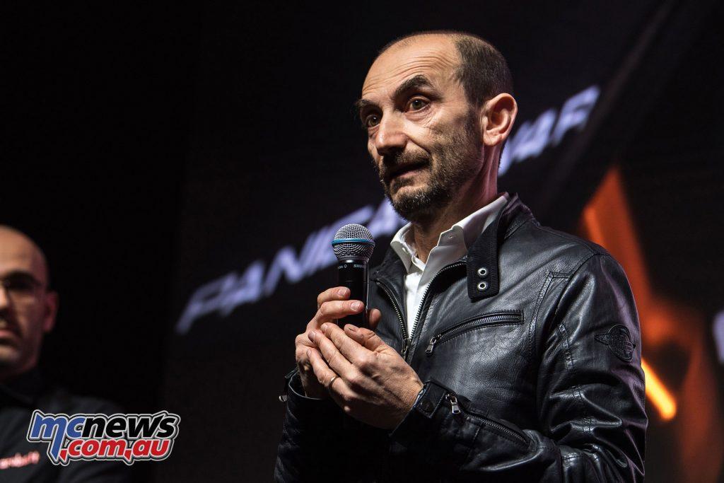 WorldSBK Aruba it Racing Ducati Team Presentation Claudio Domenicali