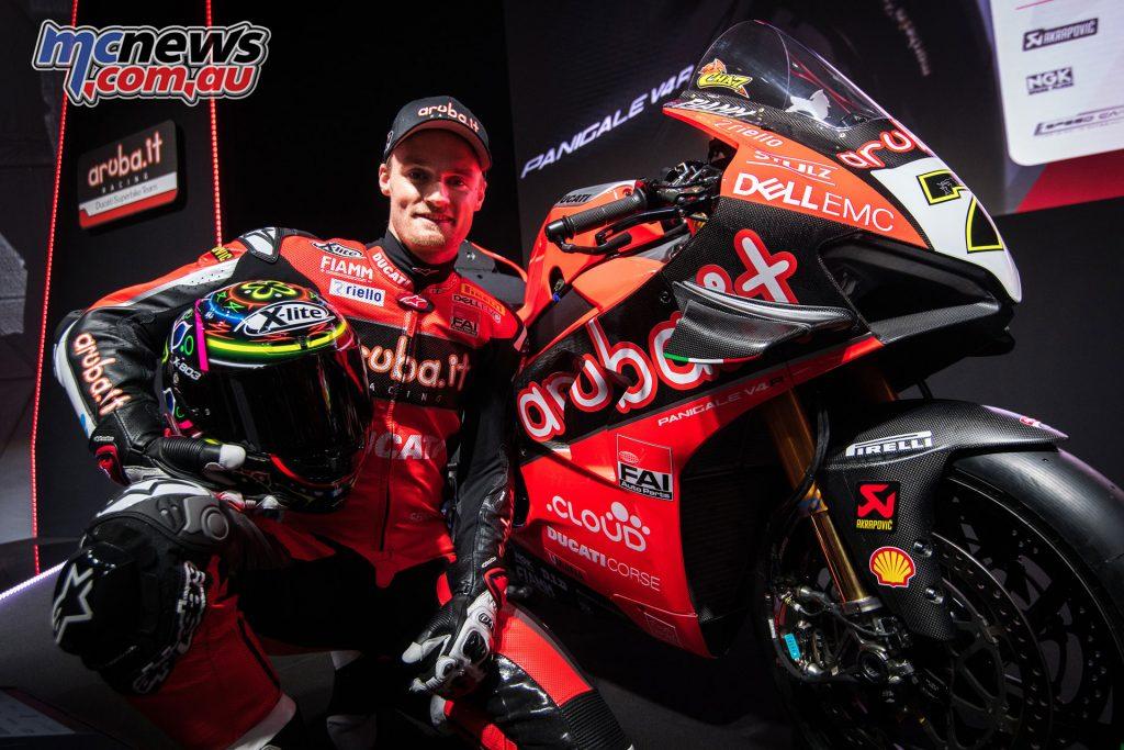 WorldSBK Aruba it Racing Ducati Team Presentation Davies