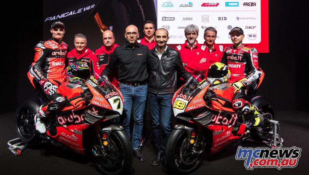WorldSBK Aruba it Racing Ducati Team Presentation UC