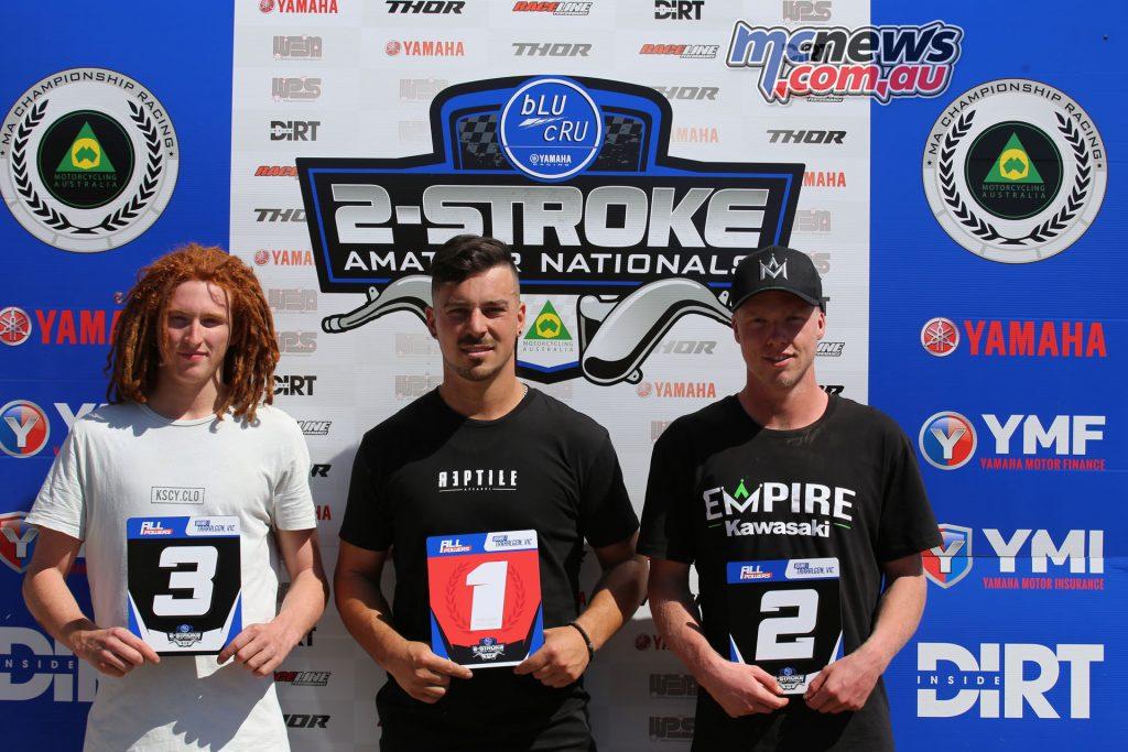Yamaha bLU cRU stroke Nationals Rnd