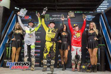 2018 AMA Supercross - Round Eight - Tampa - 250SX Results Austin Forkner 2. Dylan Ferrandis 3. Zach Osborne
