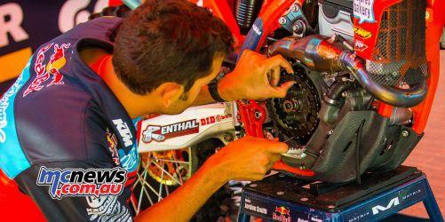 KTM Clutch Pits MX JK RedBud AMAMX Rnd