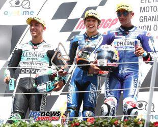 MotoGP Rnd Austria Moto Podium Bezzecchi GP AN