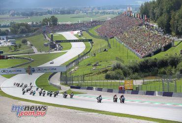 MotoGP Rnd Austria Moto start GP AN