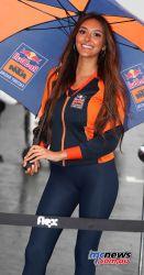 MotoGP Silverstone Girl GP AN