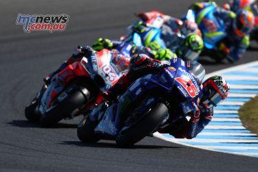 MotoGP Phillip Island Vinales GP AN