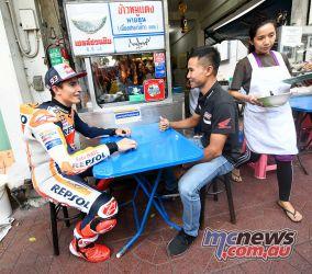 MotoGP Rnd Thailand Pre Marquez Nakarin Atiratphuvapat