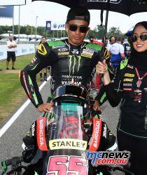 MotoGP Rnd Thailand Syahrin GP AN