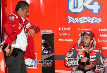 MotoGP Valencia Test Dovizioso GPT AN