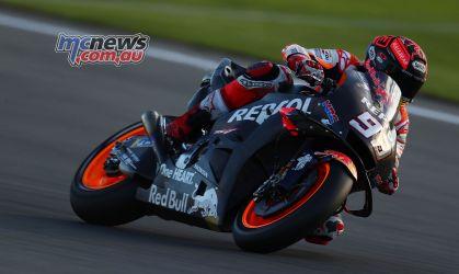 MotoGP Valencia Test Marquez GPT AN