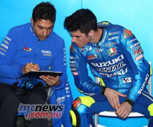 MotoGP Valencia Test Mir GPT AN